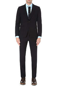 DRIES VAN NOTEN Keller pinstripe suit