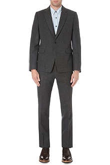 DRIES VAN NOTEN Slim-fit flannel suit