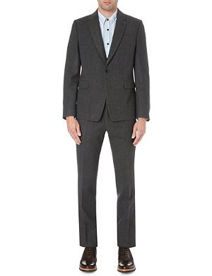 DRIES VAN NOTEN Slim-fit flannel suit