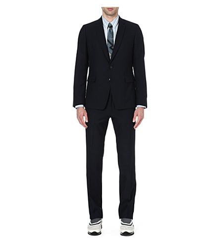 DRIES VAN NOTEN Kobe slim-fit suit (Navy