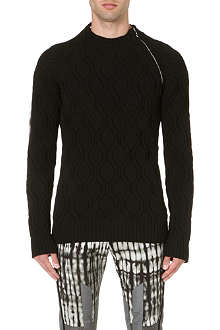 DRIES VAN NOTEN Manu zip-detailed jumper