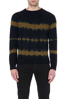 DRIES VAN NOTEN Miles tie-dye jumper