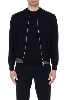 DRIES VAN NOTEN Morad wool bomber jacket