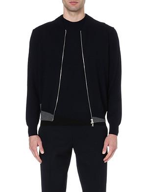 DRIES VAN NOTEN Morad wool bomber jacket
