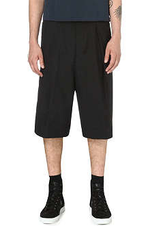 DRIES VAN NOTEN Parge wide-leg shorts