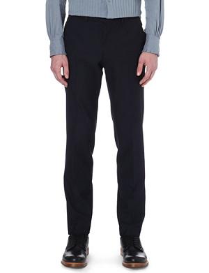 DRIES VAN NOTEN Peeler slim-fit trousers