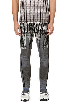 DRIES VAN NOTEN Peter tie-dye slim-fit tapered jeans