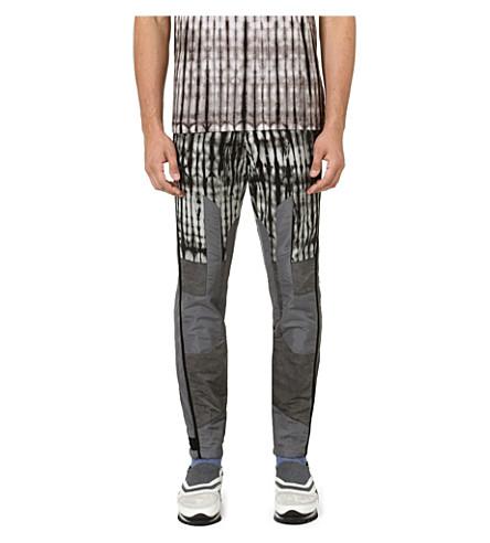DRIES VAN NOTEN Peter tie-dye slim-fit tapered jeans (Grey
