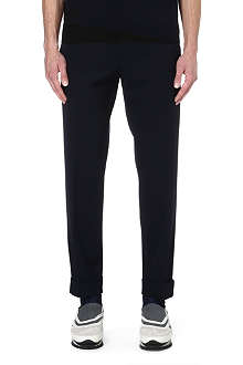 DRIES VAN NOTEN Petrie wool trousers