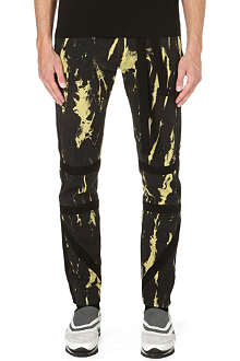 DRIES VAN NOTEN Pop tie-dye slim-fit jeans