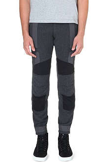 DRIES VAN NOTEN Previs panelled biker trousers