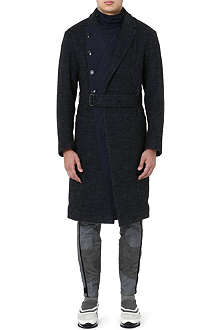 DRIES VAN NOTEN Rodier quilted-insert coat