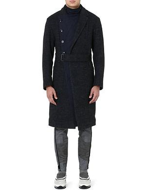 DRIES VAN NOTEN Rodier quilted-insert coat