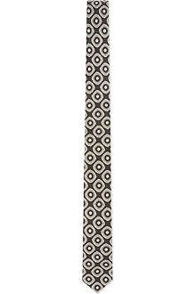 DRIES VAN NOTEN Circle geometric tie