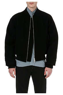 DRIES VAN NOTEN Zip-detail bomber jacket