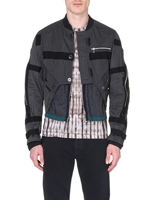 DRIES VAN NOTEN Utility bomber jacket