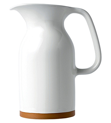 ROYAL DOULTON Olio white jug 17.5cm
