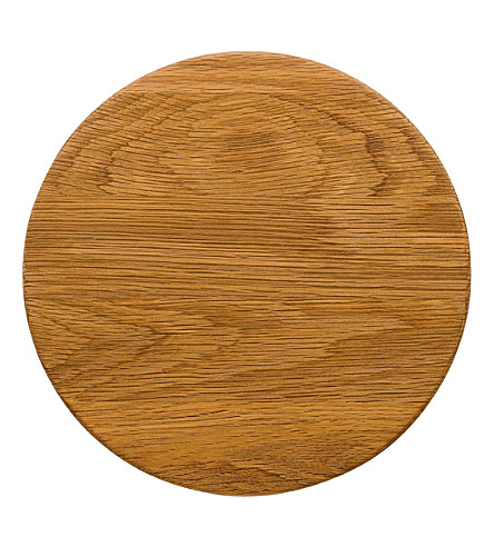 ROYAL DOULTON Olio wood trivet 19cm