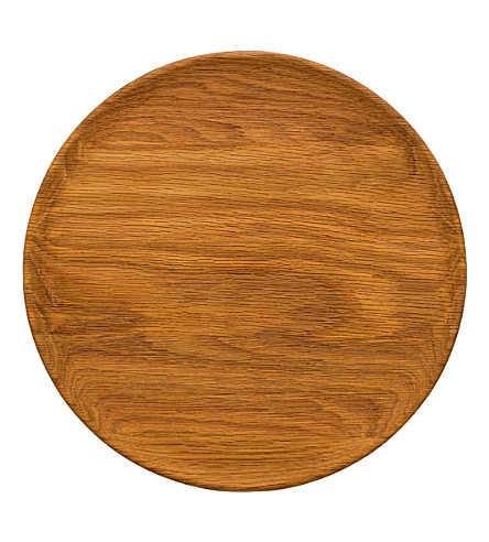 ROYAL DOULTON Olio wood platter 30cm