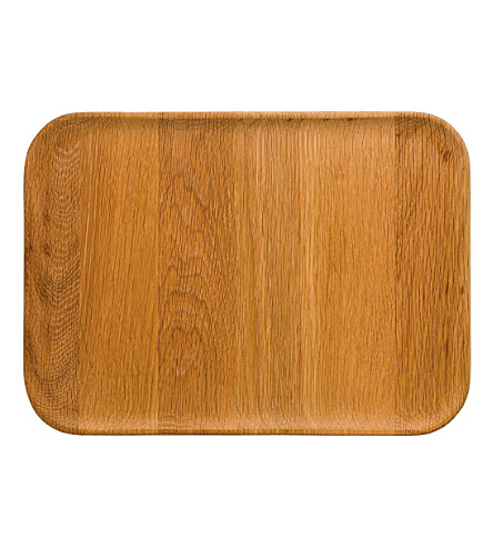 ROYAL DOULTON Olio wood platter 35cm