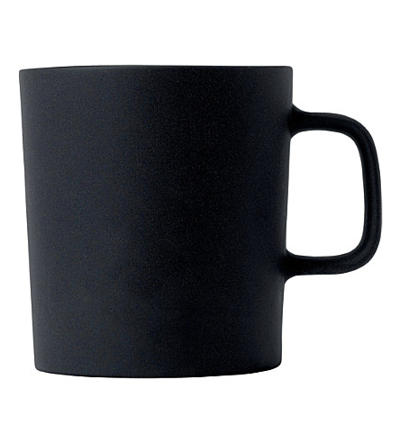 ROYAL DOULTON Olio black mug 300ml