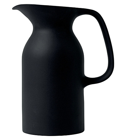 ROYAL DOULTON Olio black jug 21.5cm