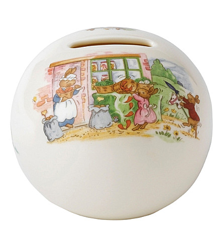 ROYAL DOULTON Bunnykins china money ball
