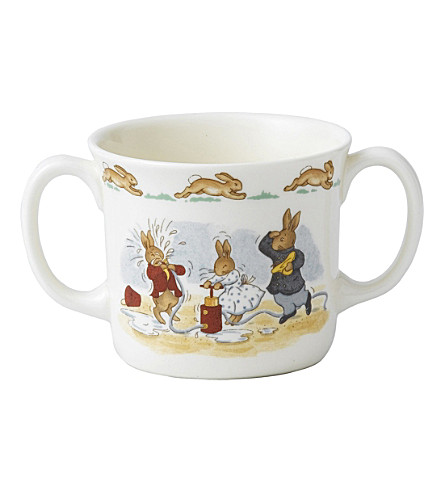 ROYAL DOULTON Bunnykins two-handled hug-a-mug