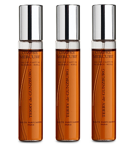 TERRY DE GUNZBURG Ombre Mercure eau de parfum refills 3x8.5ml