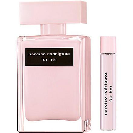 NARCISO RODRIGUEZ For Her eau de parfum 50ml gift set