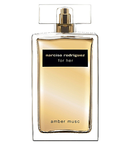 NARCISO RODRIGUEZ For Her amber musc eau de parfum absolue 100ml