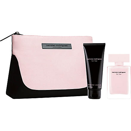 NARCISO RODRIGUEZ Narciso Rodriguez For Her eau de parfum 50ml gift set