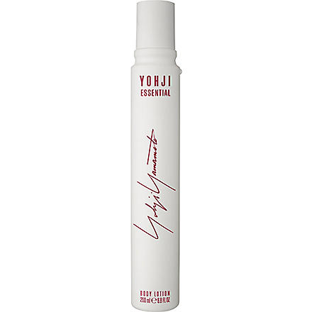 YOHJI YAMAMOTO Yohji Essential body lotion 200ml