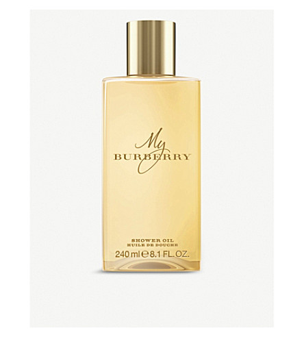 BURBERRY My Burberry shower oil 250ml