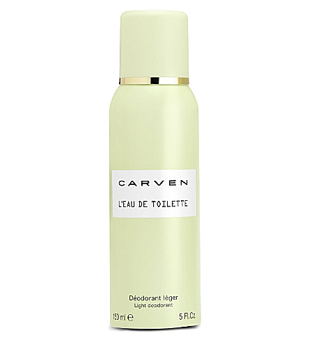 CARVEN L'Eau de Toilette light deodorant spray 150ml