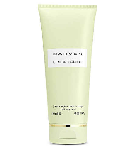 CARVEN L'Eau de Toilette light body cream 200ml