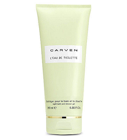 CARVEN L'Eau de Toilette light bath & shower gel 200ml