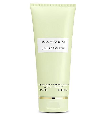 CARVEN L'Eau de Toilette light bath & shower gel 200ml