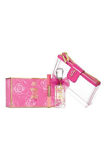 JUICY COUTURE Viva la Fleur eau de toilette 75ml gift set