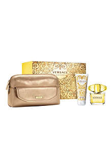VERSACE Yellow Diamond eau de toilette 90ml gift set