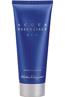 FERRAGAMO Acqua Essenziale Blu shower gel 200ml
