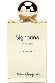 FERRAGAMO Signorina Eleganza bath & shower gel