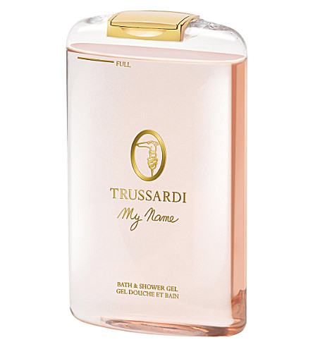 TRUSSARDI My Name bath and shower gel 200ml