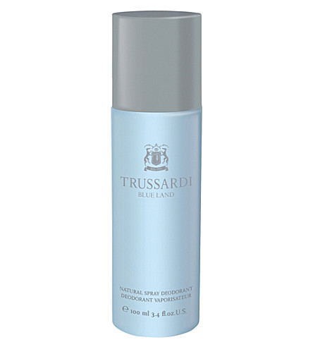 TRUSSARDI Trussdai blue land spray deodorant 100ml