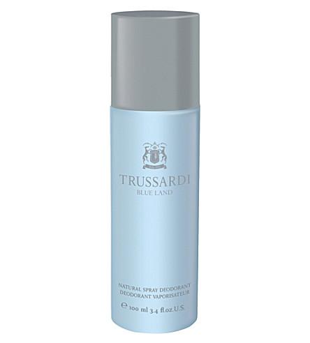TRUSSARDI Trussdai blue land spray deodorant 100ml