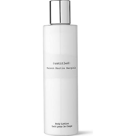 MAISON MARTIN MARGIELA Untitled body lotion