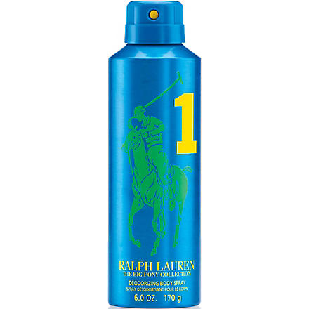 RALPH LAUREN The Big Pony Collection deodorizing body spray (Blue