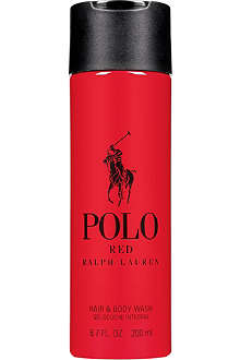RALPH LAUREN Polo Red hair and body wash 200ml