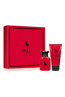 RALPH LAUREN Polo Red eau de toilette 75ml gift set
