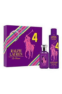 RALPH LAUREN Big Pony Purple eau de toilette 50ml gift set